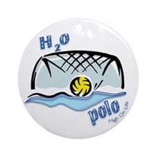 High On Life H2o Polo Ornament (Round)