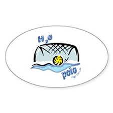 High On Life H2o Polo Oval Decal