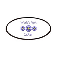 World's Best Sister Patches