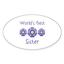 World's Best Sister Decal