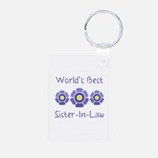World's Best Sister-In-Law Keychains
