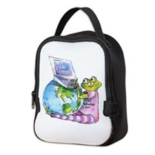 I Leap, Therefore I am! Neoprene Lunch Bag