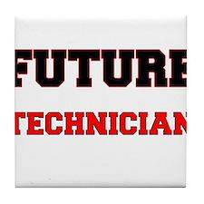 Future Technician Tile Coaster
