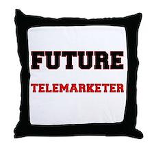 Future Telemarketer Throw Pillow