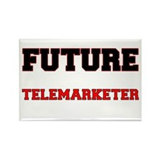 Future Telemarketer Rectangle Magnet