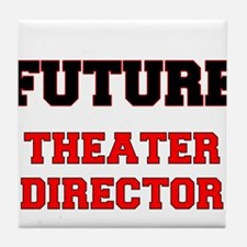 Future Theater Director Tile Coaster