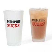 US CITIES SUCK! - MEMPHIS Drinking Glass