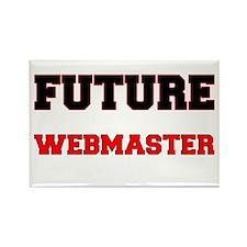Future Webmaster Rectangle Magnet