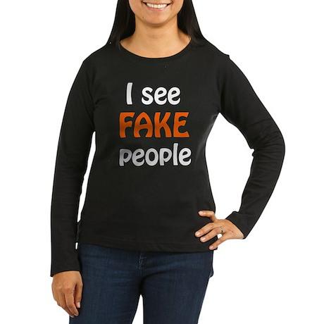 Fake people Long Sleeve T-Shirt