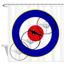 British Fighter Club Shower Curtain