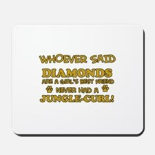 Jungle Curl Mommy designs Mousepad