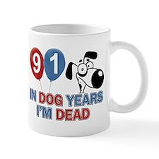 Funny 91 year old designs Mug