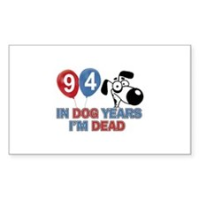 Funny 94 year old designs Decal