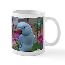 Indian Ringneck Parakeet Closeup Mug