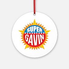 Super Gavin Ornament (Round)