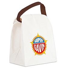 Super Gavin Canvas Lunch Bag