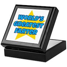 Worlds Greatest Farter Keepsake Box