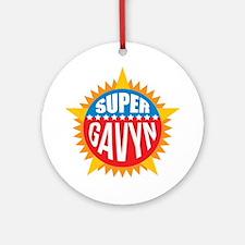 Super Gavyn Ornament (Round)