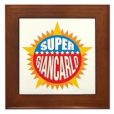 Super Giancarlo Framed Tile