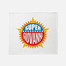 Super Giovanni Throw Blanket