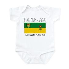 Land of Living Skies Saskatch Infant Bodysuit