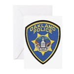 Oakland Police Greeting Cards (Pk of 10)