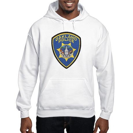 Oakland Police Hooded Sweatshirt
