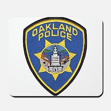 Oakland Police Mousepad