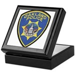 Oakland Police Keepsake Box
