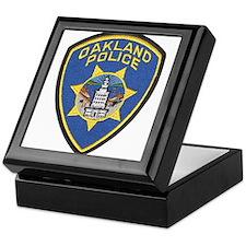 Oakland Police Keepsake Box