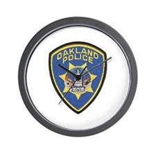 Oakland Police Wall Clock