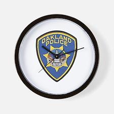 Oakland Police Wall Clock