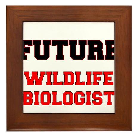 Future Wildlife Biologist Framed Tile