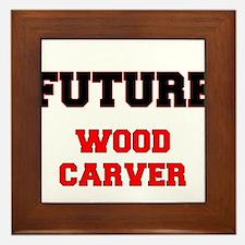 Future Wood Carver Framed Tile