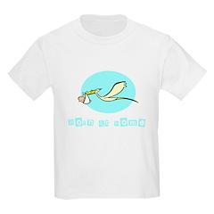 Born at Home Kids T-Shirt