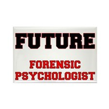 Future Forensic Psychologist Rectangle Magnet