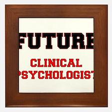 Future Clinical Psychologist Framed Tile