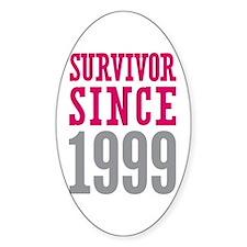 Survivor Since 1999 Decal