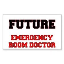 Future Emergency Room Doctor Decal