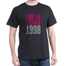 Survivor Since 1998 T-Shirt