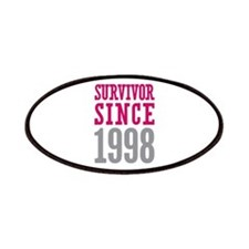 Survivor Since 1998 Patches