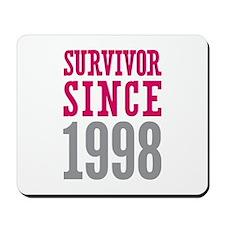 Survivor Since 1998 Mousepad