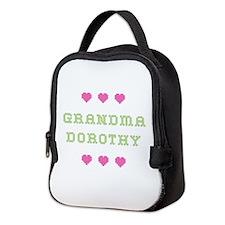 Grandma Dorothy Neoprene Lunch Bag
