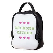 Grandma Esther Neoprene Lunch Bag