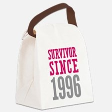 Survivor Since 1996 Canvas Lunch Bag