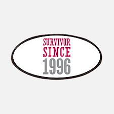 Survivor Since 1996 Patches