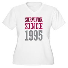 Survivor Since 1995 T-Shirt