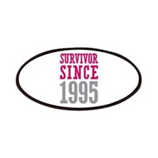 Survivor Since 1995 Patches