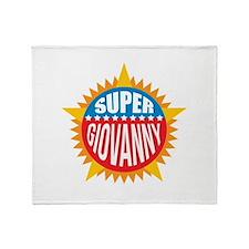Super Giovanny Throw Blanket