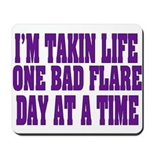 One Flare At A Time Mousepad